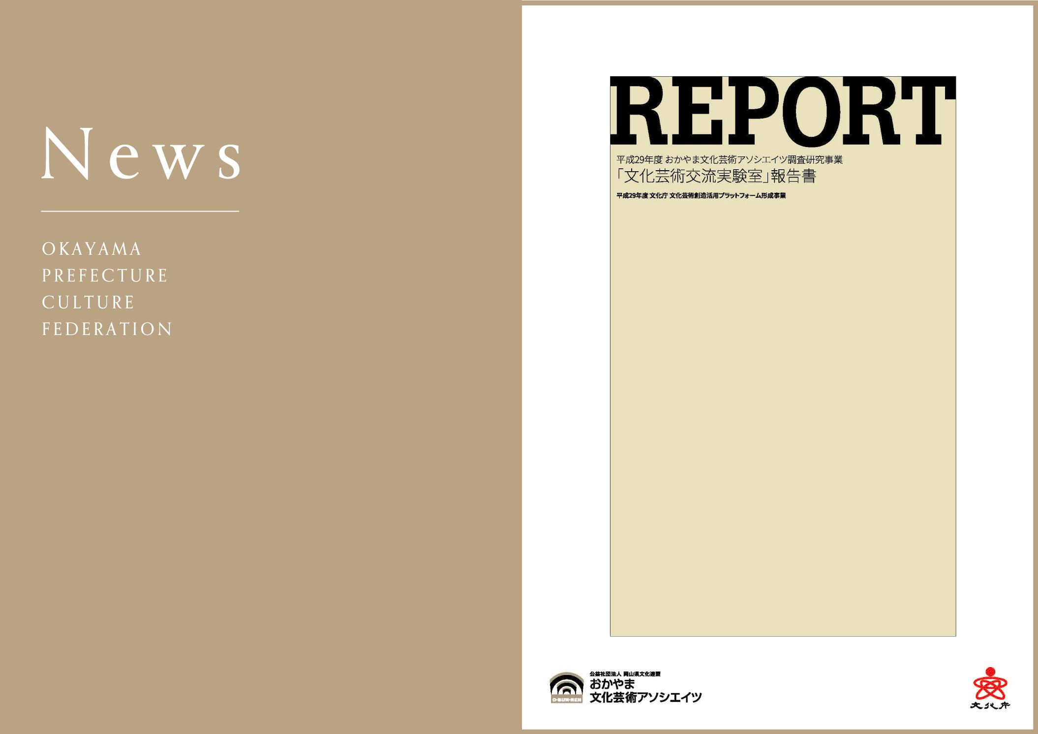 平成29年度 文化芸術交流実験室 報告書