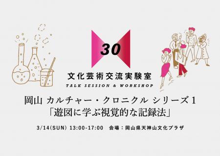 岡山 カルチャー・クロニクル シリーズ1「遊図に学ぶ視覚的な記録法」
