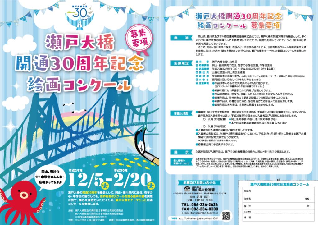 瀬戸大橋開通30周年記念絵画コンクール